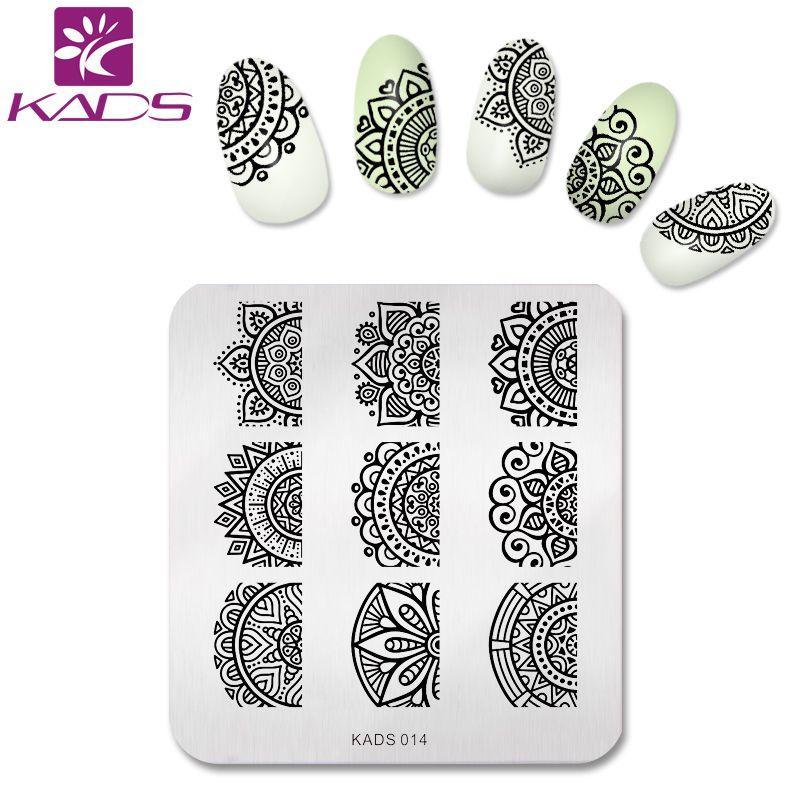 Aliexpress.com : Buy KADS New 2017 Full Beauty Lace Flower Nail Art ...