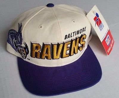 8986f73adda ... discount baltimore ravens vintage snapback sports specialties shadow hat  nfl cap new rare b9a5b 9fe0f
