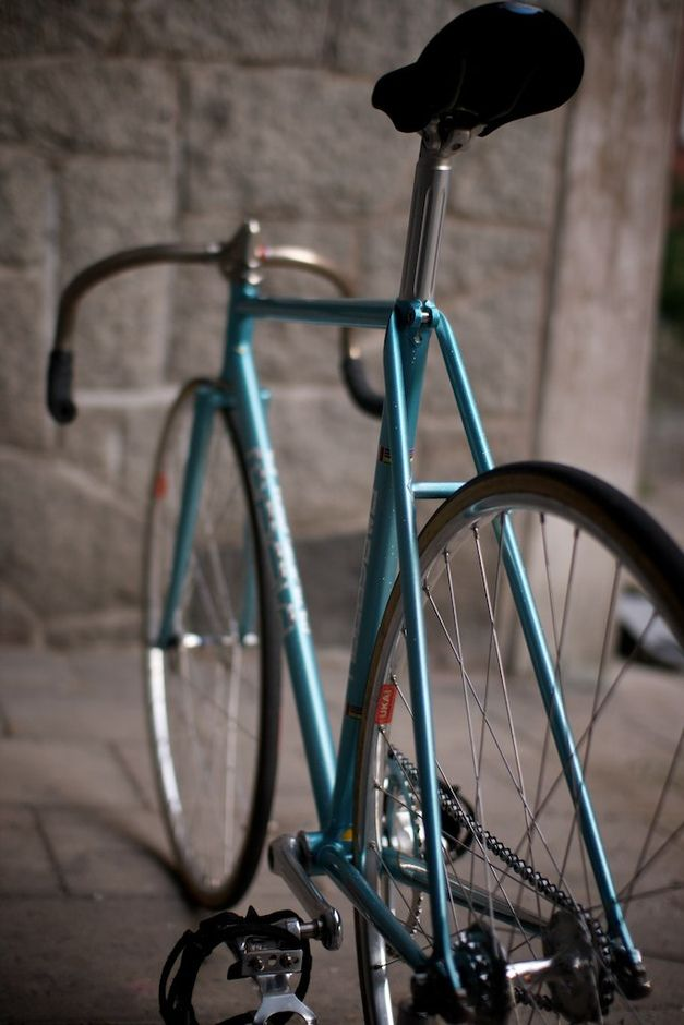 2004 Nagasawa Njs Pearl Blue Pedal Room Le Fixie Bike