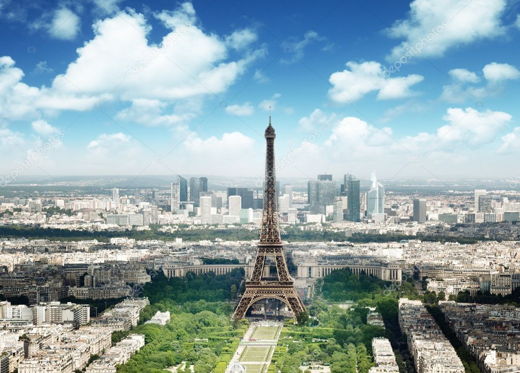 Eiffel tower in Paris, France Stock Photo , #Aff, #Paris