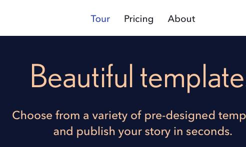 Fonts Used: Nobel, Avenir #Typewolf Typography Inspiration