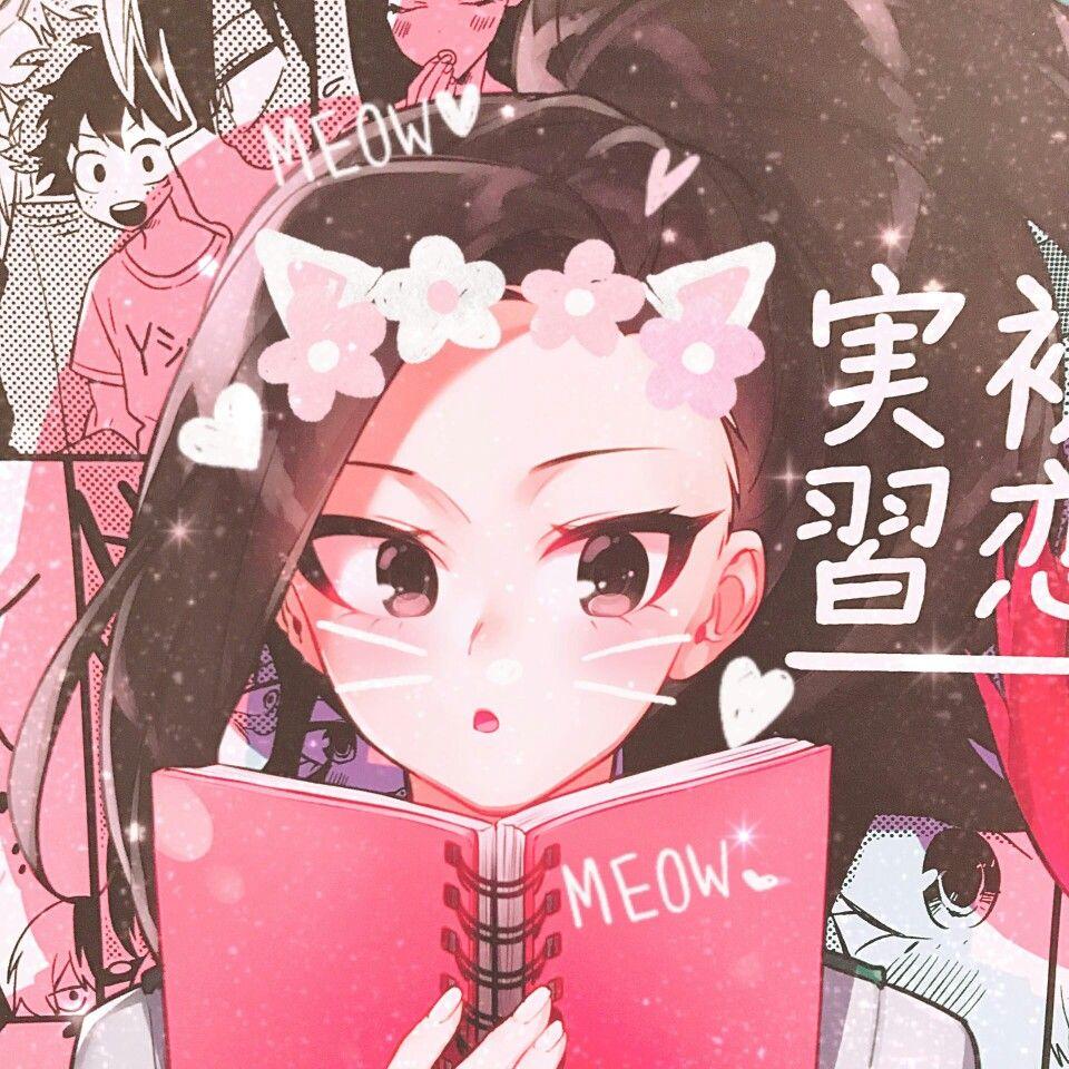 Momo Yaoyorozu Hero Academia Characters Anime Hero
