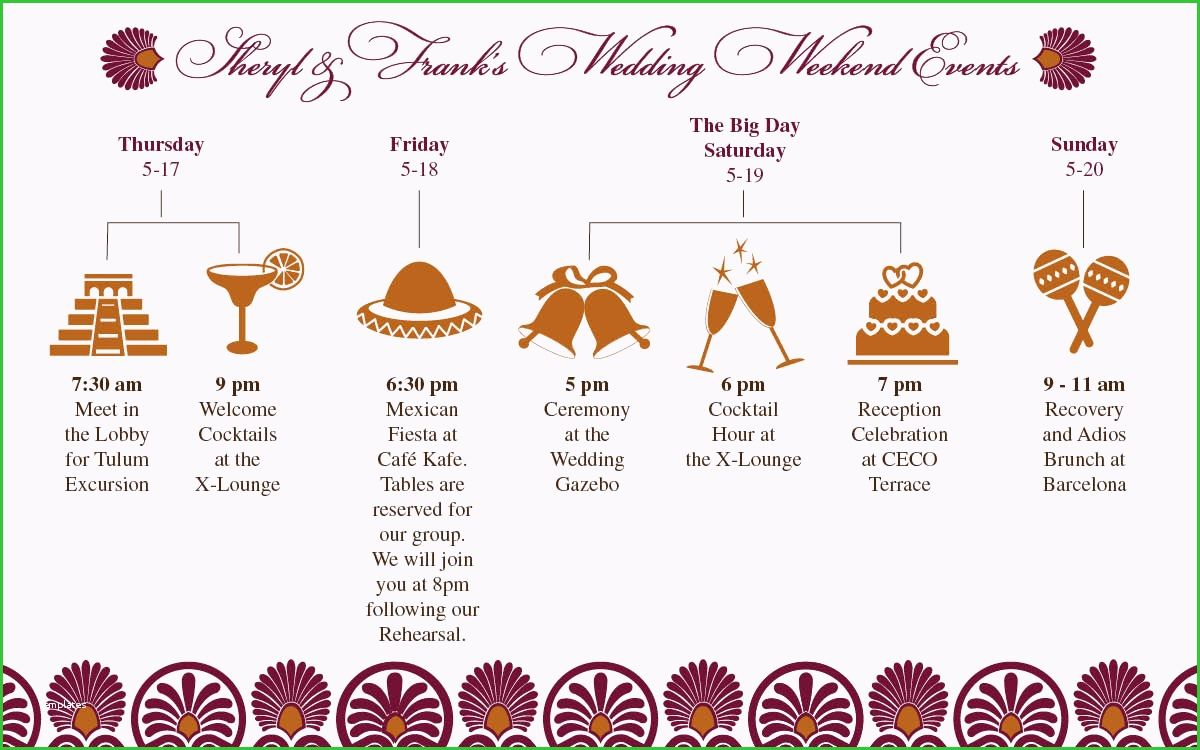 Indian Wedding Itinerary Template Good Stocks 301 Moved Permanently Upacara Pernikahan Blog