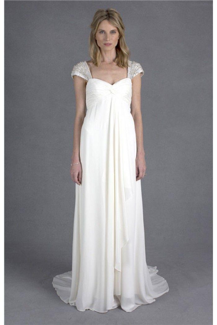 Maternity Empire Waist Wedding Dress