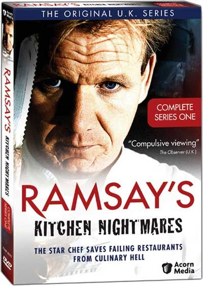 Ramsay S Kitchen Nightmares On Dvd Or Blue Ray Kitchen