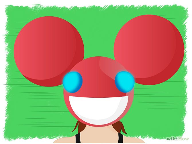 Deadmau5 Head Official Dimensions Deadmau5 Head Helmet Design Headed