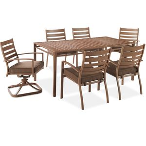 Superior Sunnyside 7 Piece Dining Set. Orchard SupplyOutdoor Living PatiosHardware  StoresDining FurnitureDining SetsDining TableOrchards