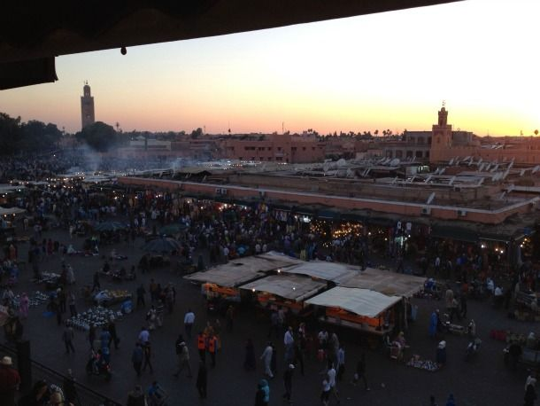 Visit Marrakech without kids… backpacker-style