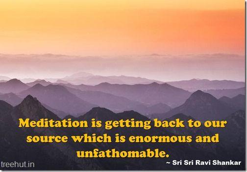 Meditation Quotes Wallpaper By Sri Sri Ravi Shankar 9 Guruji