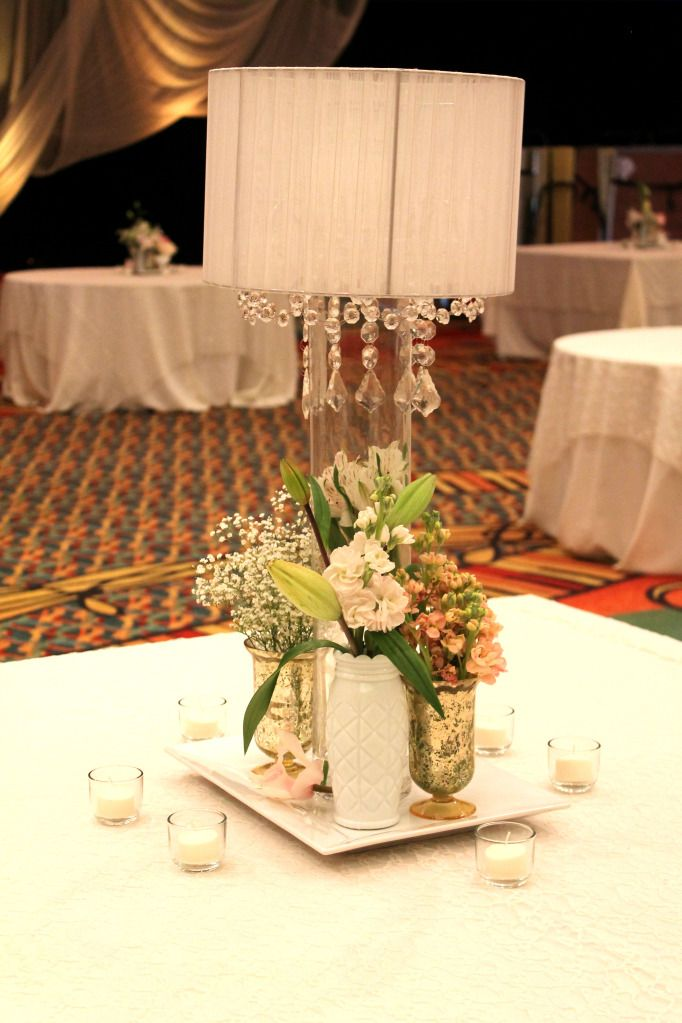 Pink And Gold Centerpieces Blush And Gold Wedding Vases Wedding