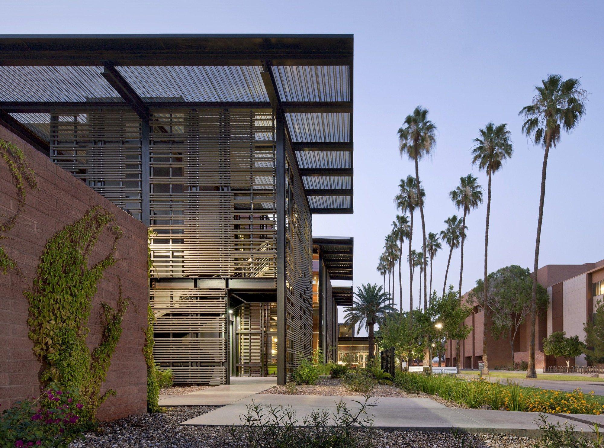 Asu Health Services Building Lake Flato Architects Lake Flato Sustainable Building Design Building Design
