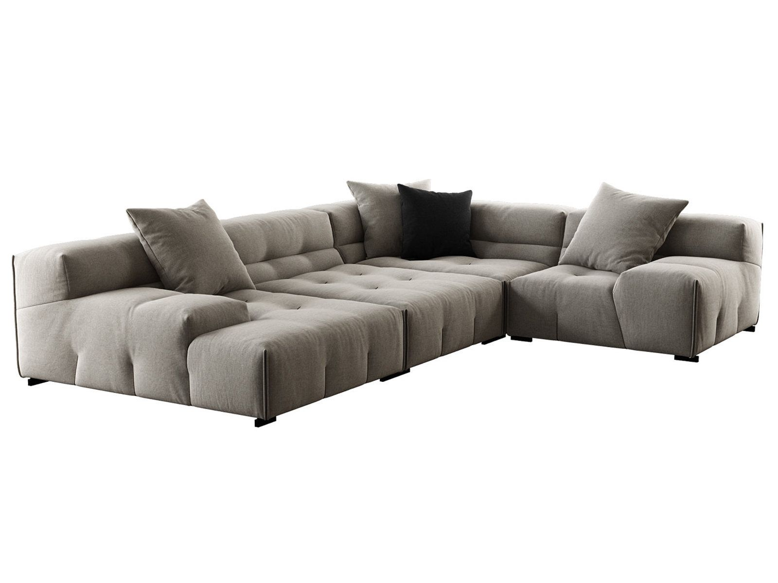 Tufty Too Comp03 3d Model By Design Connected Modular Sectional Sofa Modular Couch Modern Leather Living Room Furniture