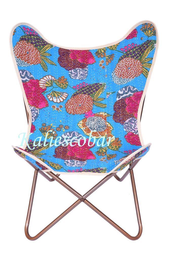 Kantha Chair Cover Hide Chair Cover Canvas Kantha Chair Cover Cotton Art  #Kaliescobar