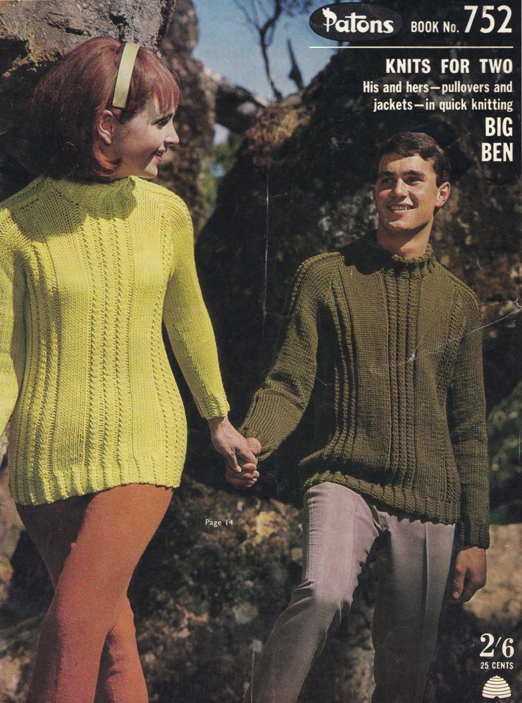 The Vintage Pattern Files: Free 1960s Knitting Pattern - Patons Book ...