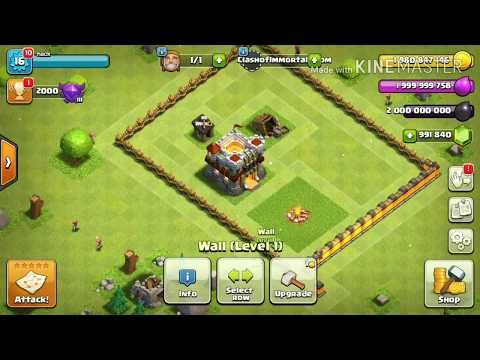 clash of clans hacked version download 2017