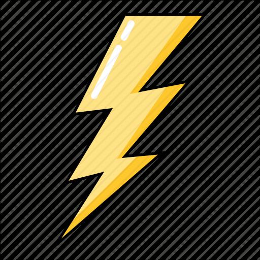 Thunder Flash Lightning Weather Bolt Storm Icon In 2020 Weather Icons Icon Thunder Weather
