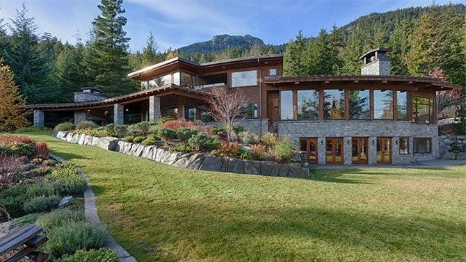 Sarah McLachlan Asking $10.09 Million For British Columbian Hillside Chalet