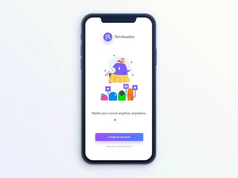Movie Rating App Design Ios App Design User Interface Design