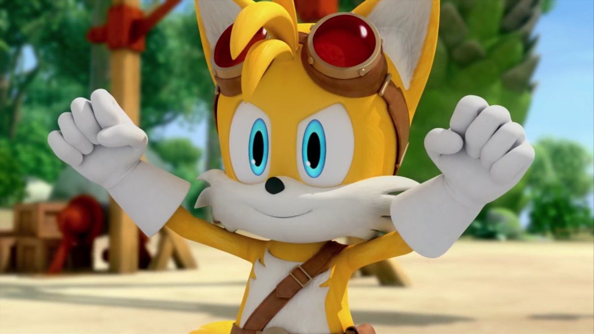 Pin By Leilani Garcia On Sonic Boom Sonic Boom Tails Sonic Boom Sonic The Hedgehog