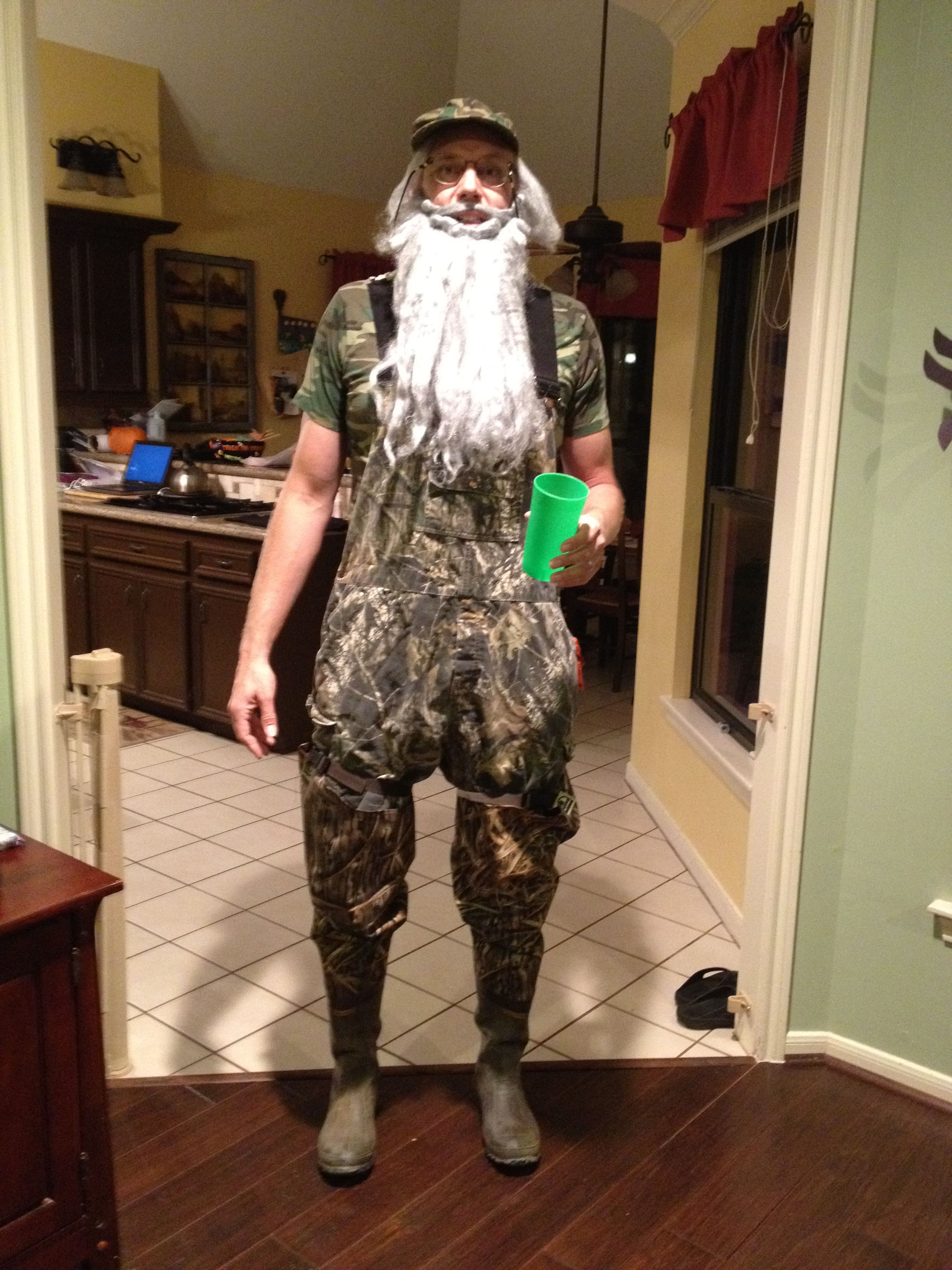 Duck Dynasty. Uncle Si Robertson costume Hey...it's on like donkey ...