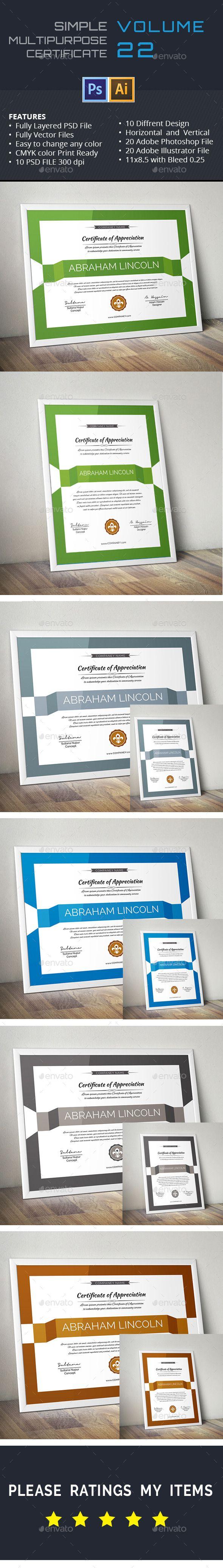 Simple multipurpose certificate gd022 certificate certificate simple multipurpose certificate gd022 yadclub Images