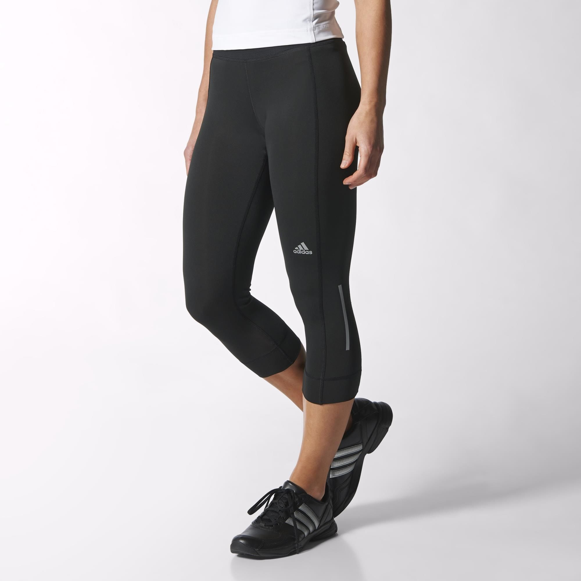adidas - Sequencials Climacool Three-Quarter Running Tights