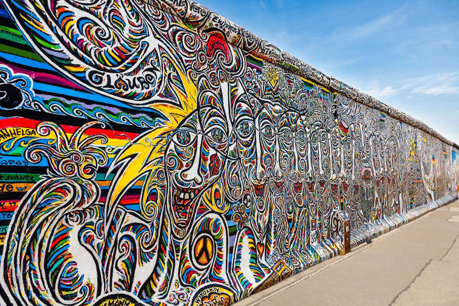 Berlin S Famous East Side Gallery Is Here To Stay East Side Gallery Berlin East Side