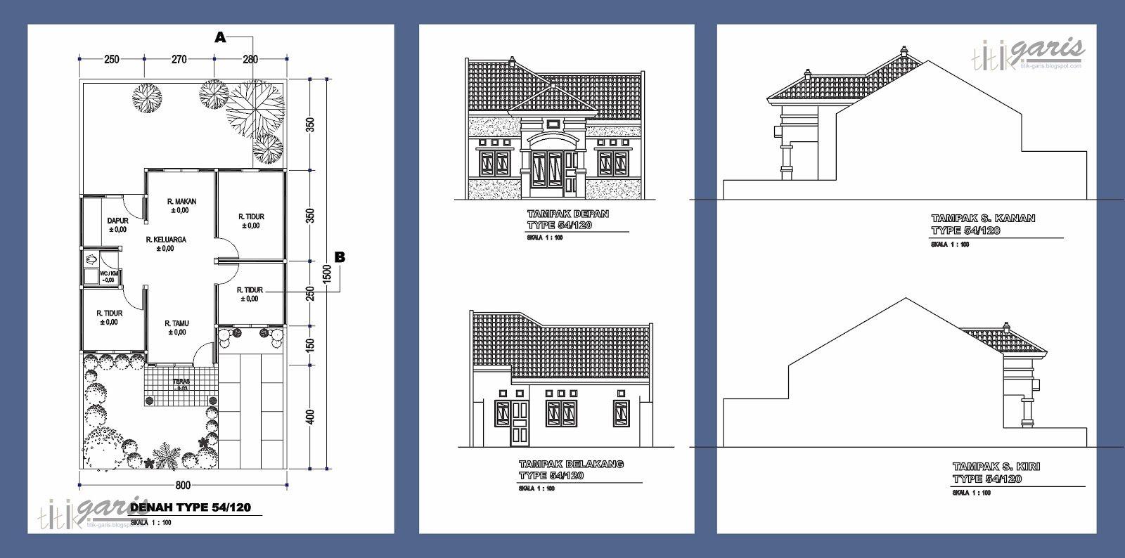 Pin Oleh RizkyDMastuti Di Ide Desain Rumah Di 2019 Denah Rumah