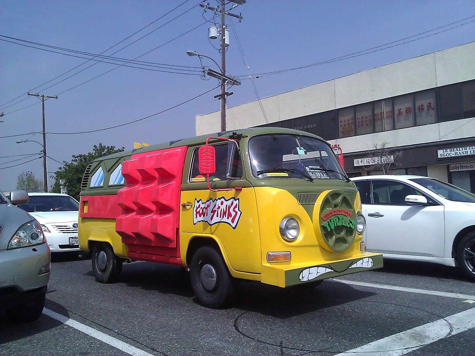tortue ninja vans