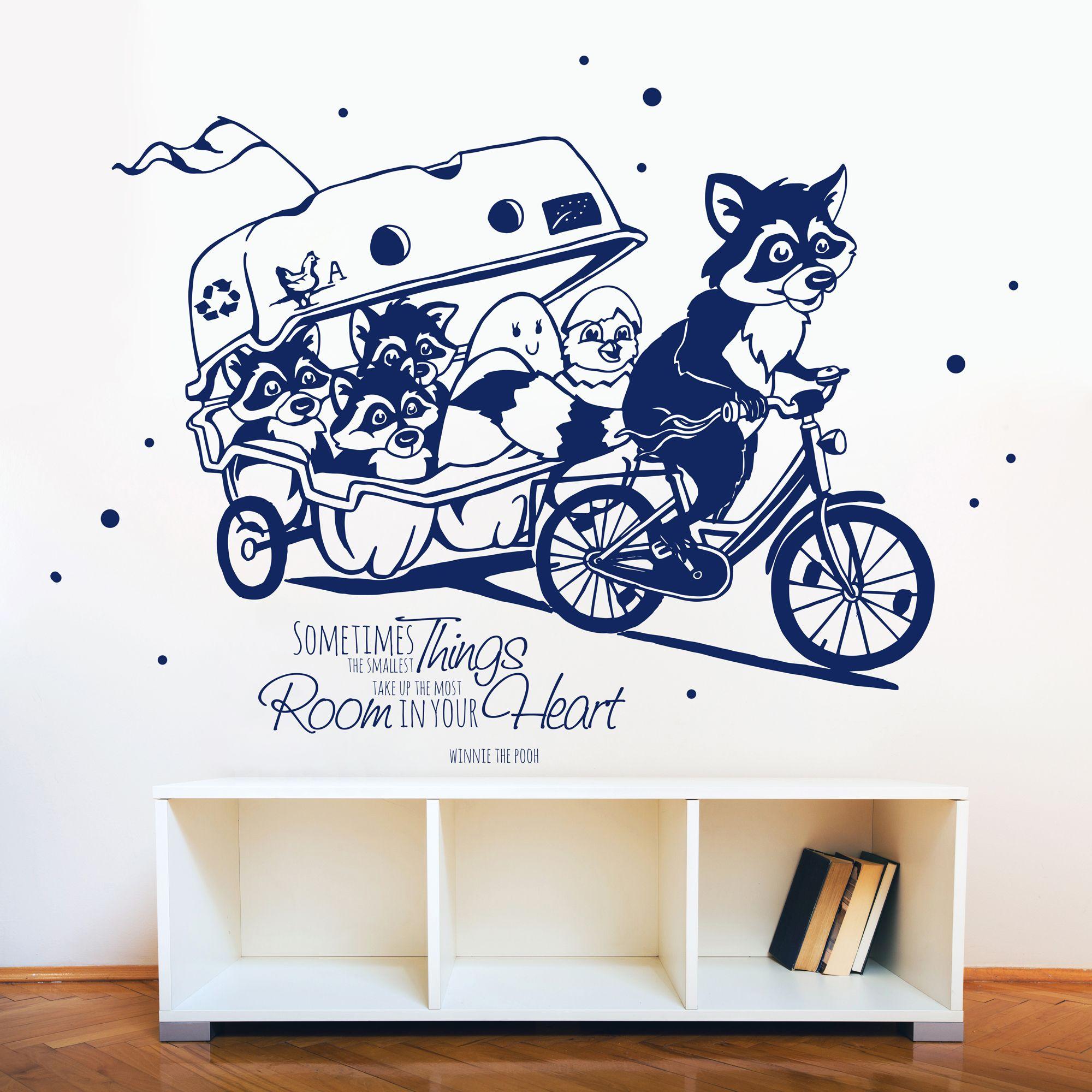Idee von deinewandkunst.de auf Wandtattoo für Kinder