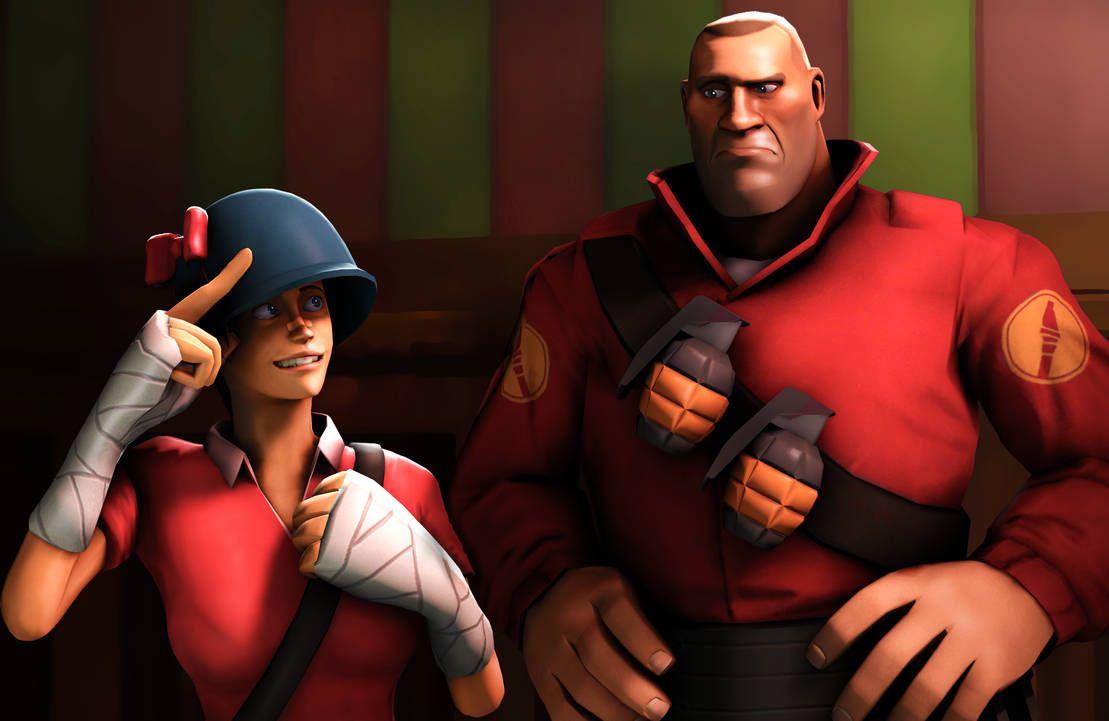 Quellbild anzeigen   Tf2 vs overwatch, Team fortress 2, Tf2 scout