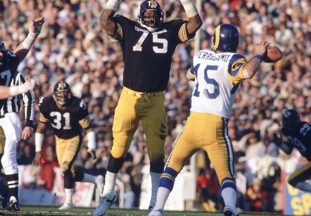 SI's 100 Best Super Bowl Photos Joe greene, Steelers