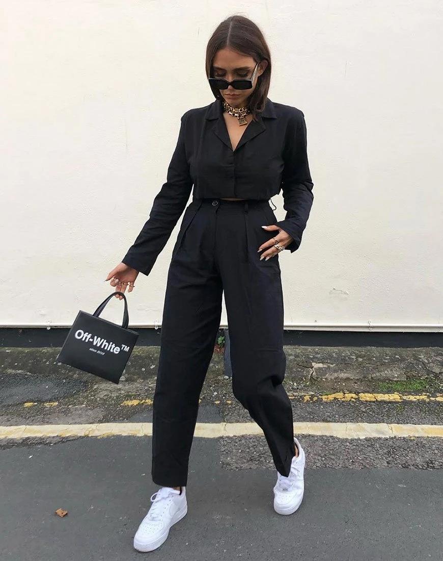 Misca Trouser in Black