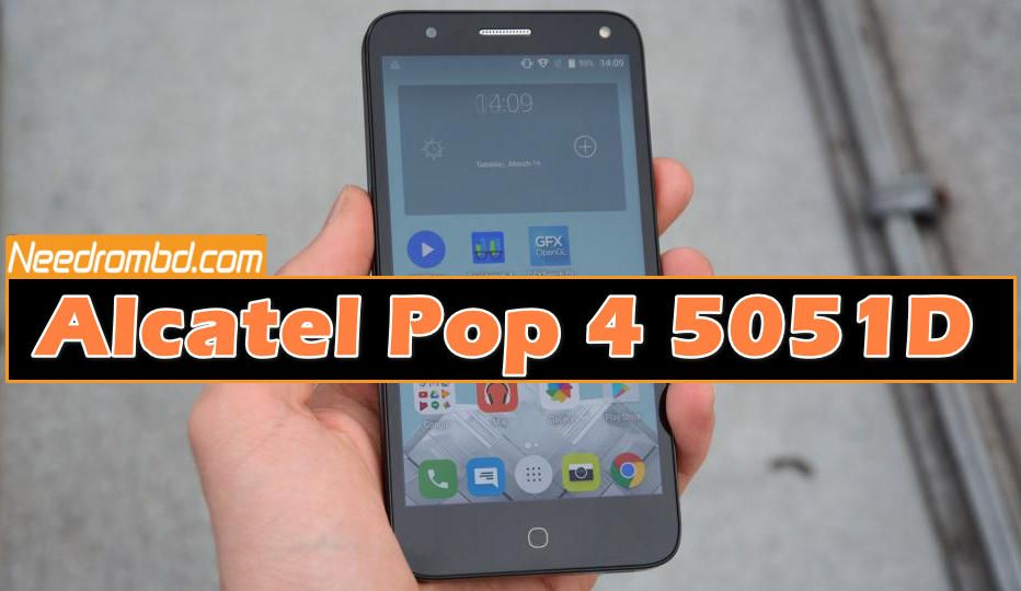 Alcatel Pop 4 5051D MSM8909 Firmware | Smartphone Firmware | Cricket