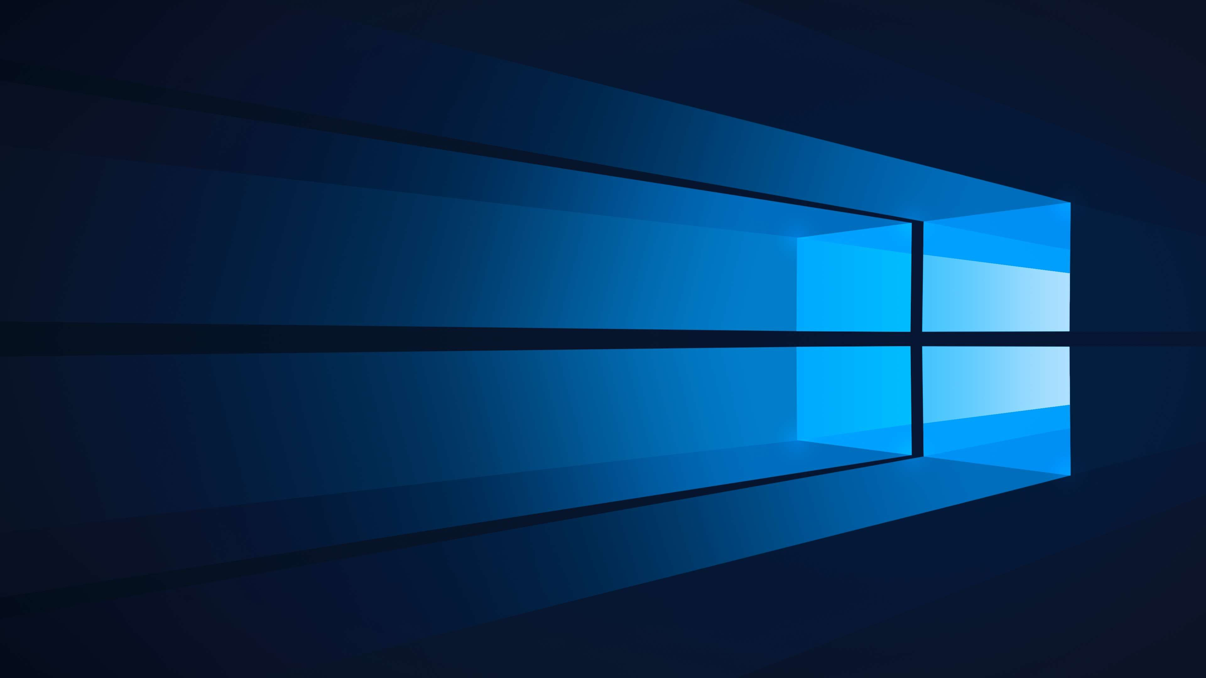 Blue Dark Blue Flat Windows Windows 10 Windows 10 Desktop Wallpapers Backgrounds Windows Wallpaper