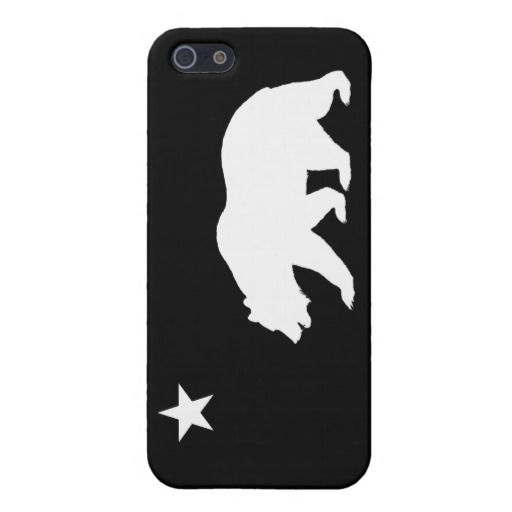 bear iphone case black and white california iphone 5 home state 10236