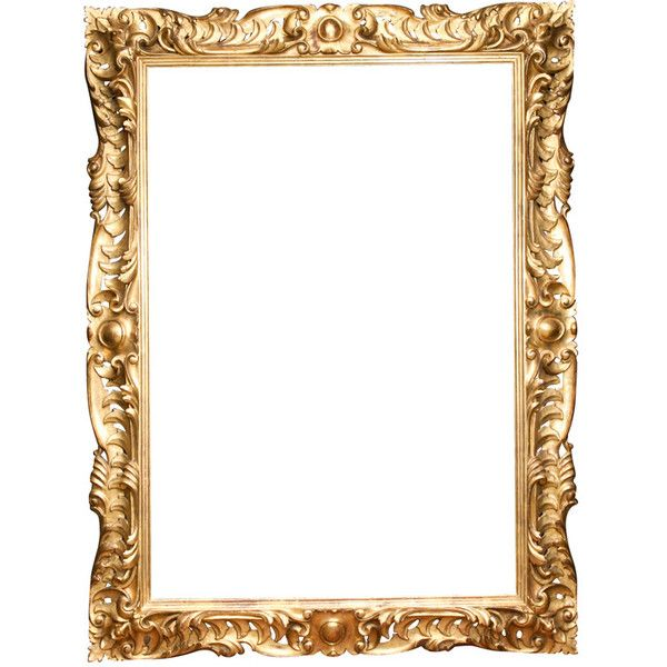 19 C Italian Carved wood Gilt Frame at 1stdibs found on Polyvore ...