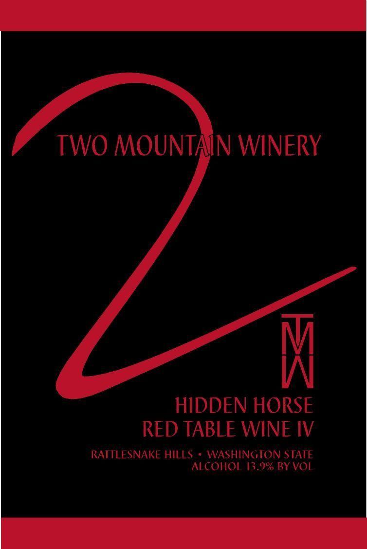 Two Mountain Winery Yakima Valley Yakima Valley Yakima Winery