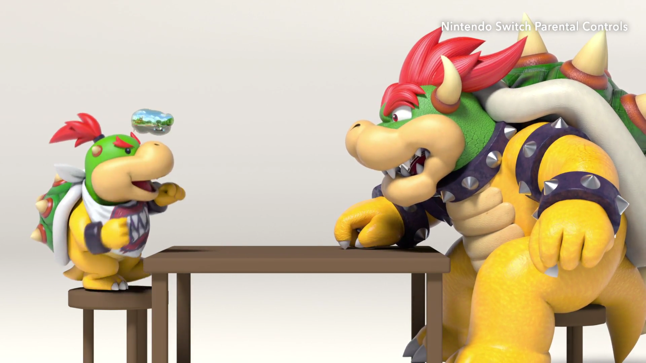 Gaming With Bowser Bowser Jr Nintendo Switch Bowser