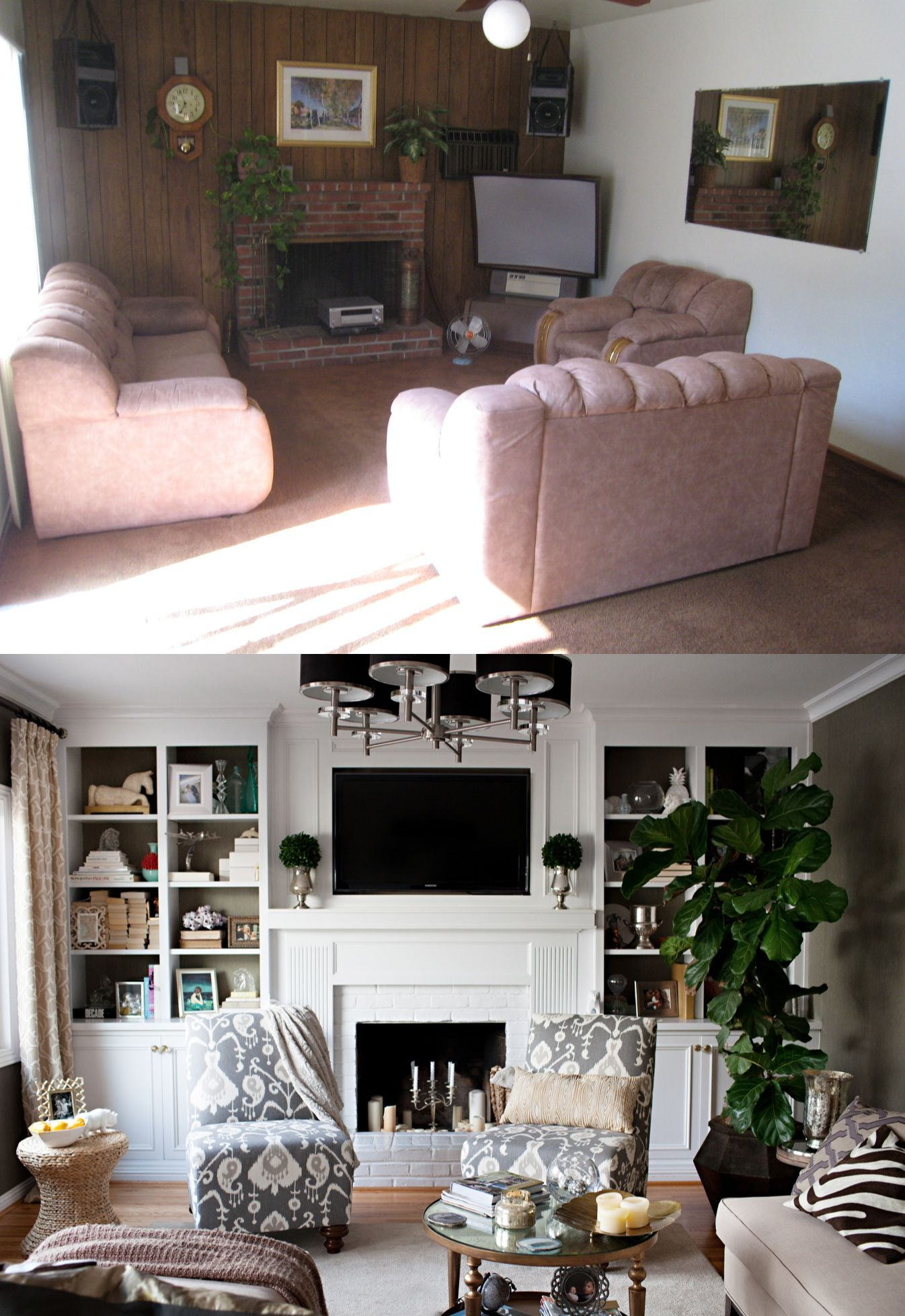 Best Wow Before And After Family Room Good To Remember When 400 x 300