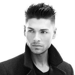 """The """"Jason"""" cut from Kurt Kuffner's/MENSDEPT """"DNA"""" Collection is a modern take on a classic Depression-era haircut"""