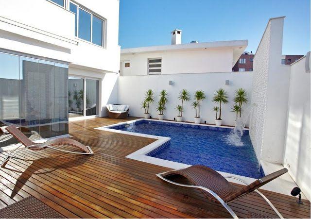 Construindo minha casa clean piscinas pequenas e modernas for Ideas piscinas pequenas