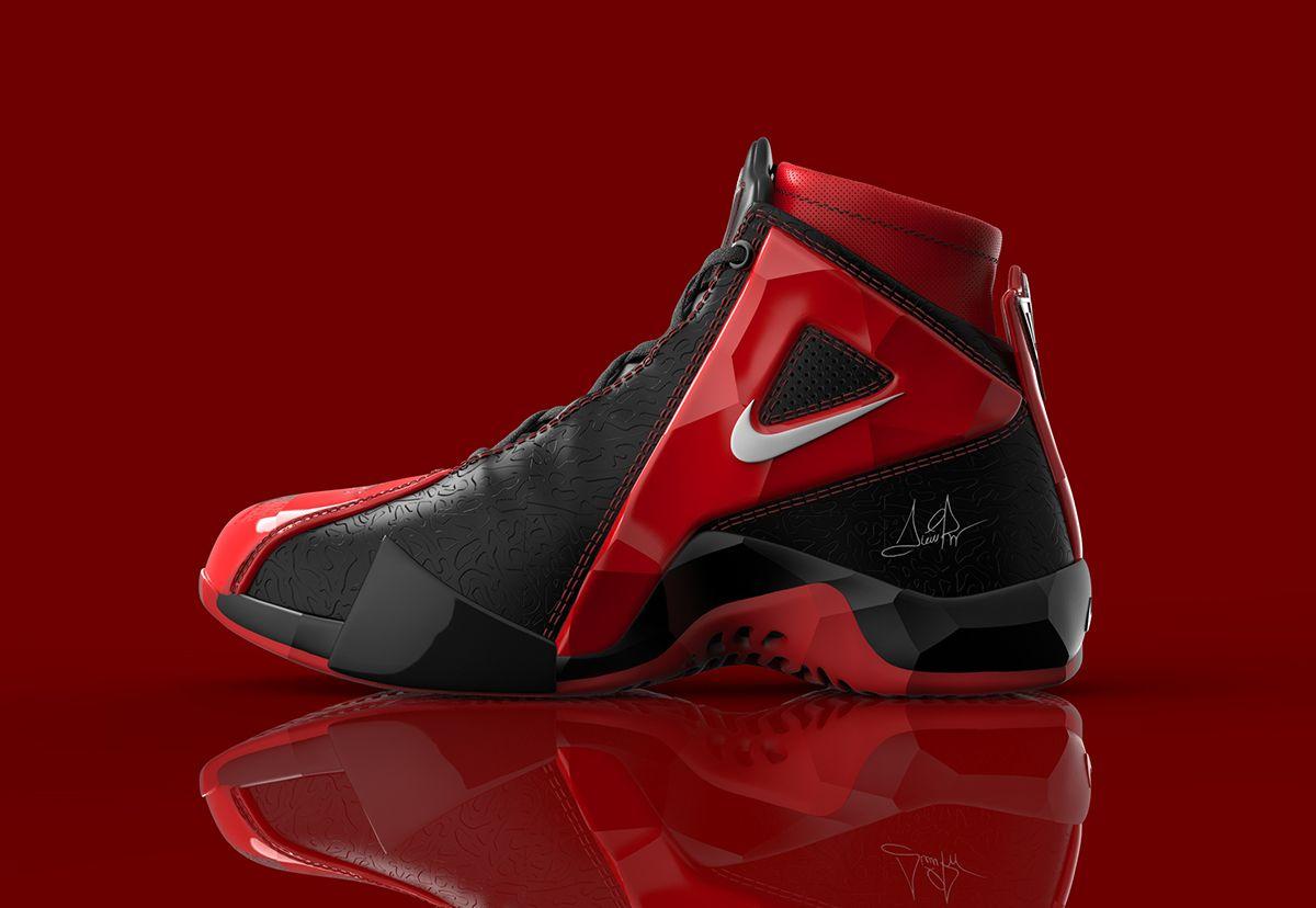best loved 30ce9 4f002 Scottie Pippen Nike Shoe on Behance