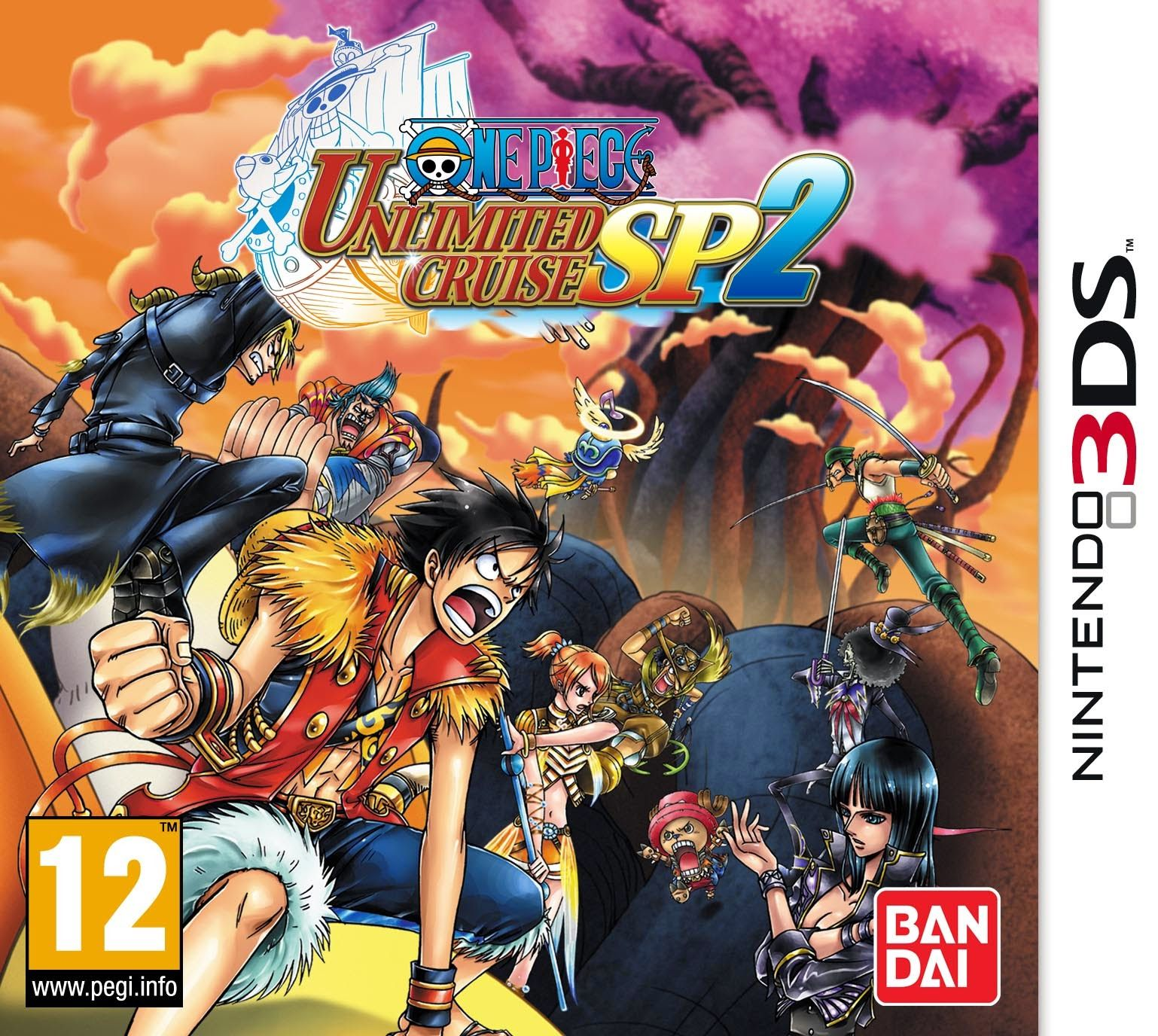 One Piece Unlimited Cruise SP 1& 2 Rom +Emulator [3DS