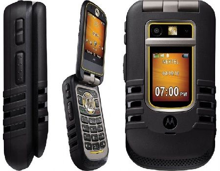 The Nextel Motorola I686 Brute Rugged Phone Is A Clams Type Which Best For People Of All Ages This Features An External Lcd