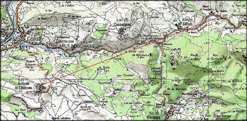 Rennes Le Chateau Mapa.Rennes Le Chateau Map Vintage World Maps Rennes Nicolas