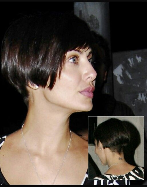 """Good """"grow out"""" style to bridge the pixie to shoulder length gap."""
