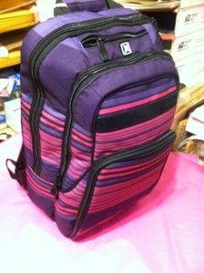 214b3af847 CUTE! Pink and purple hurley backpack. | Hurley | Backpacks, School ...