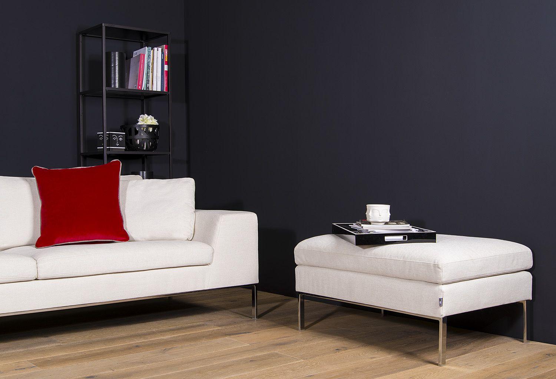 Ergänzen Sie Ihr VON WILMOWSKY Sofa mit einem passenden Hocker ...