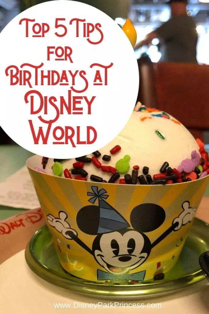 Our Top 5 Tips for Celebrating Your Birthday at Walt Disney World - Disney Park Princess